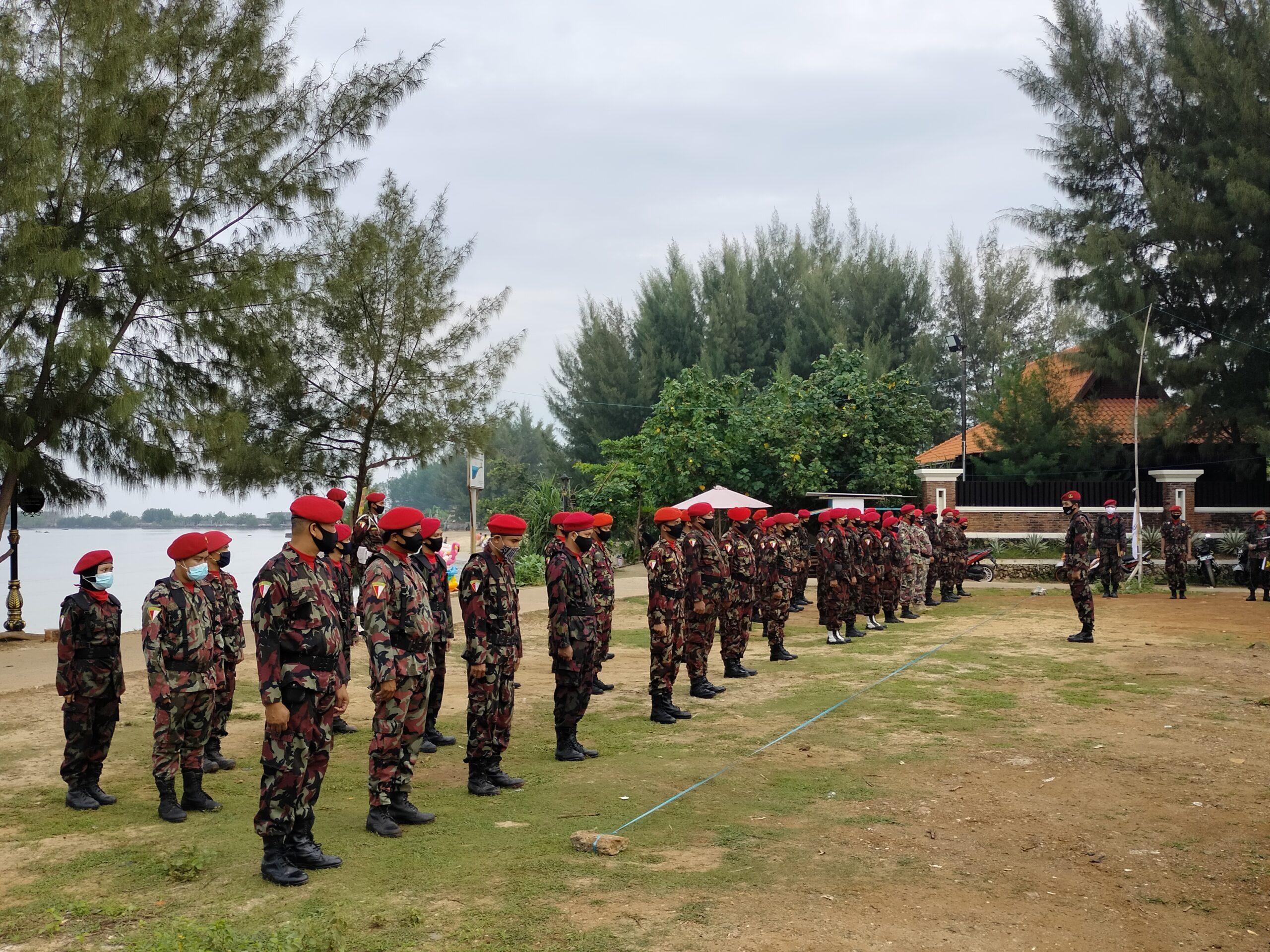 Kokam Se Eks Karesidenan Pati Berlatih Di Pantai Jepara