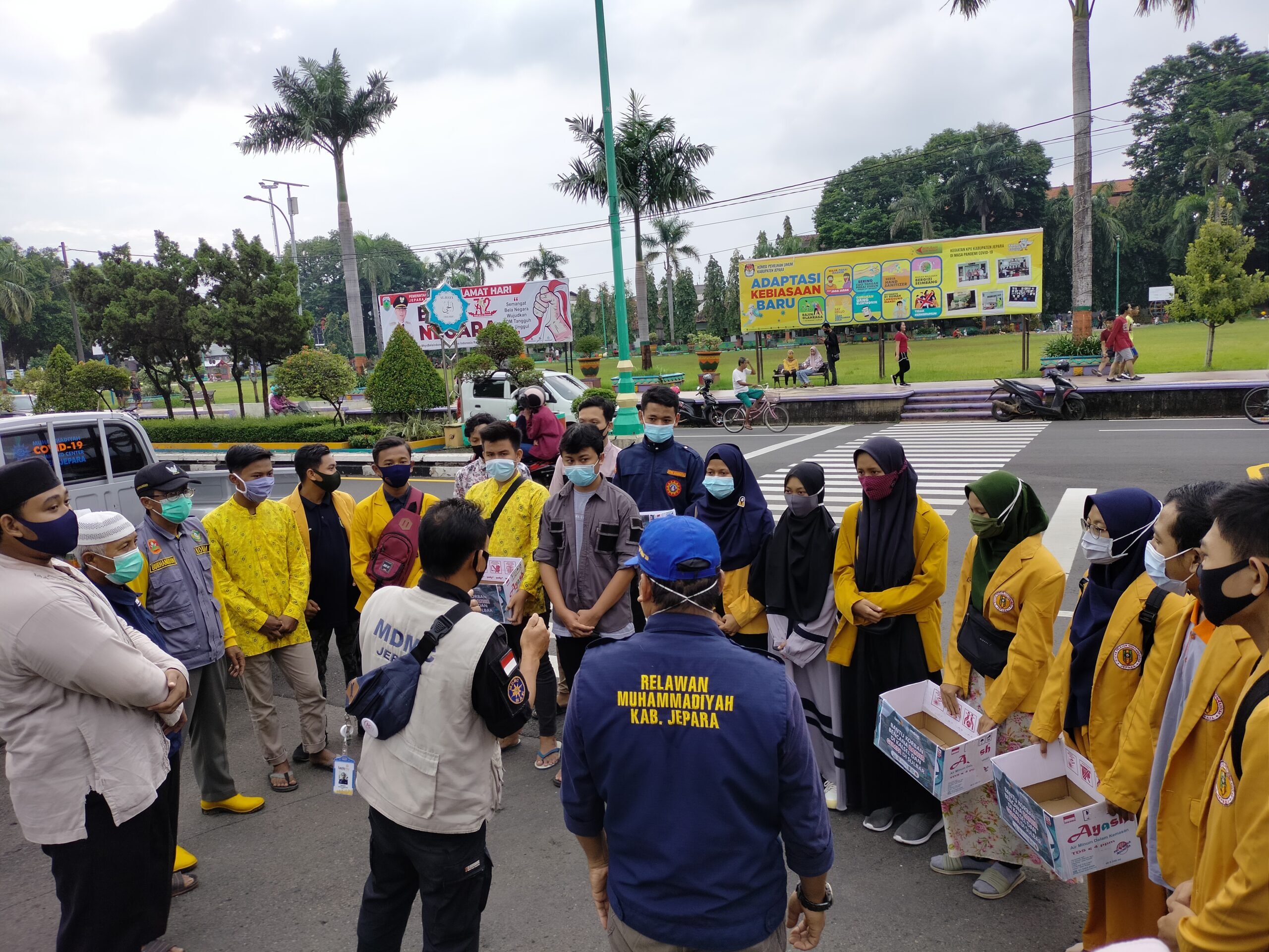 Koordinasi AMM untuk Galan dana kemanusiaan